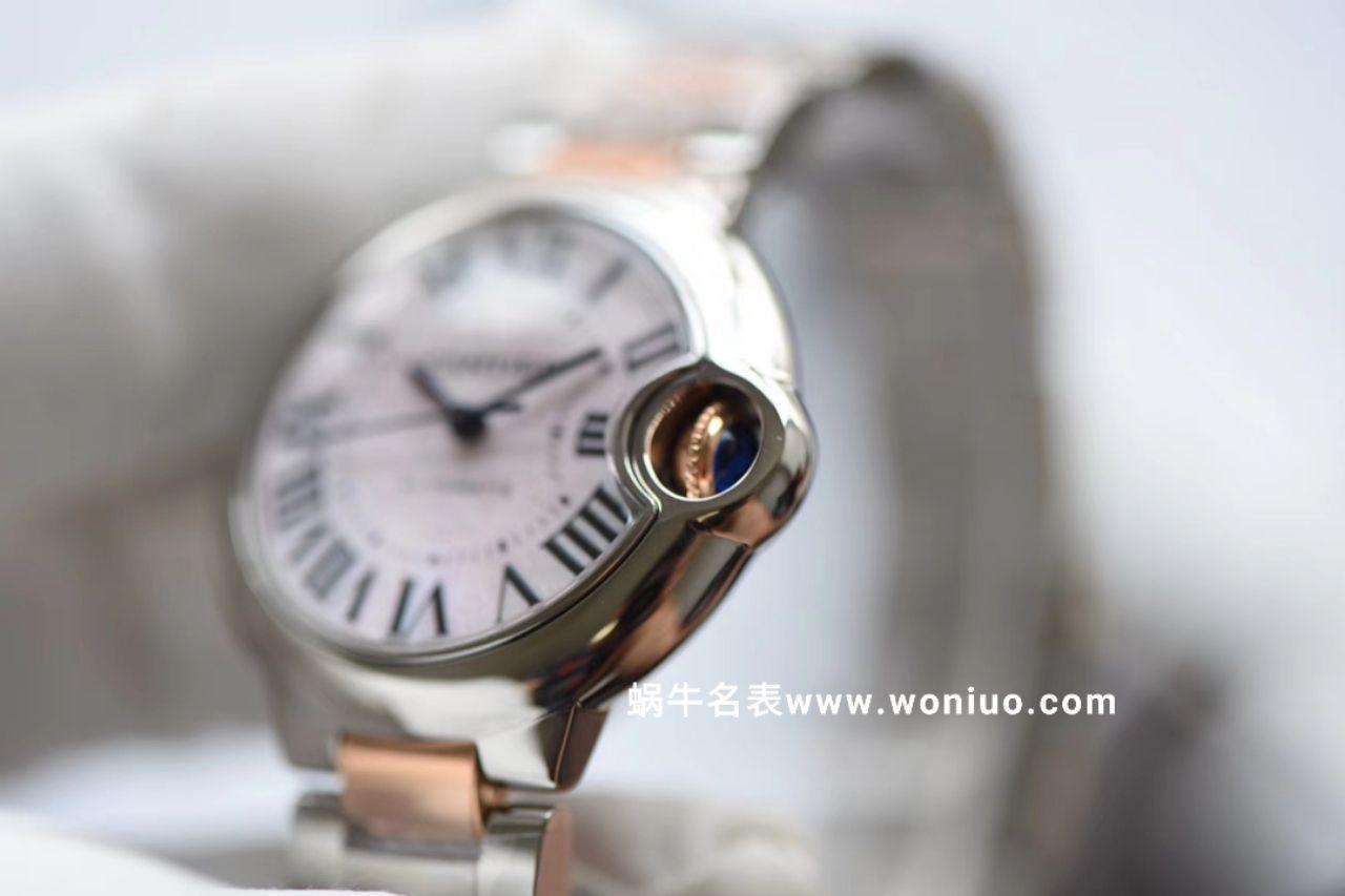 【评测视频V6厂女士蓝气球哪里买】卡地亚蓝气球系列W6920098腕表