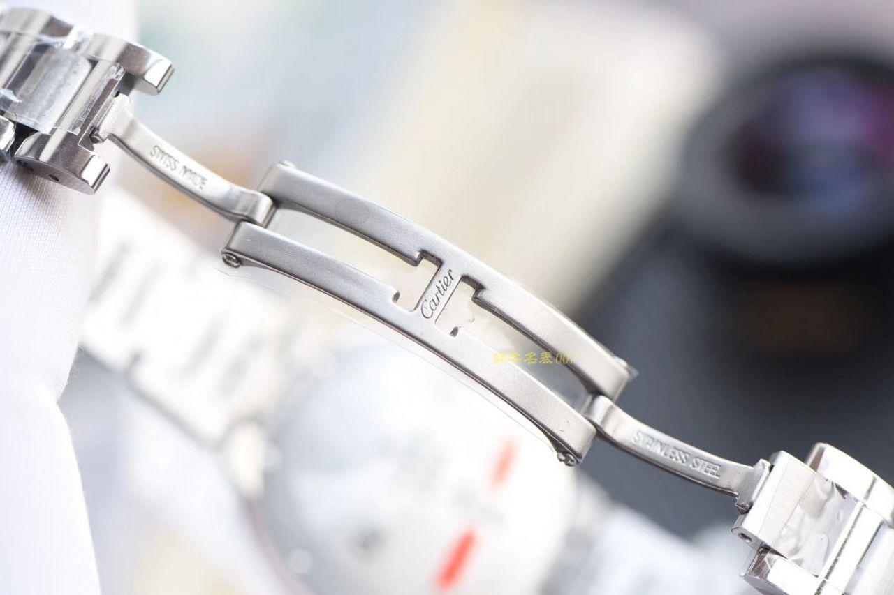 【视频评测V6厂6K蓝气球076机芯】卡地亚蓝气球女装手表33MM和36毫米W6920071、W6920046 / K168