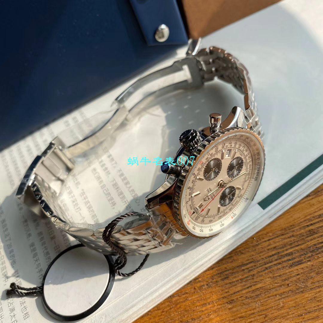 【渠道原单百年经典!】百年灵航空计时1B01计时腕表43系列AB0121211G1P1腕表