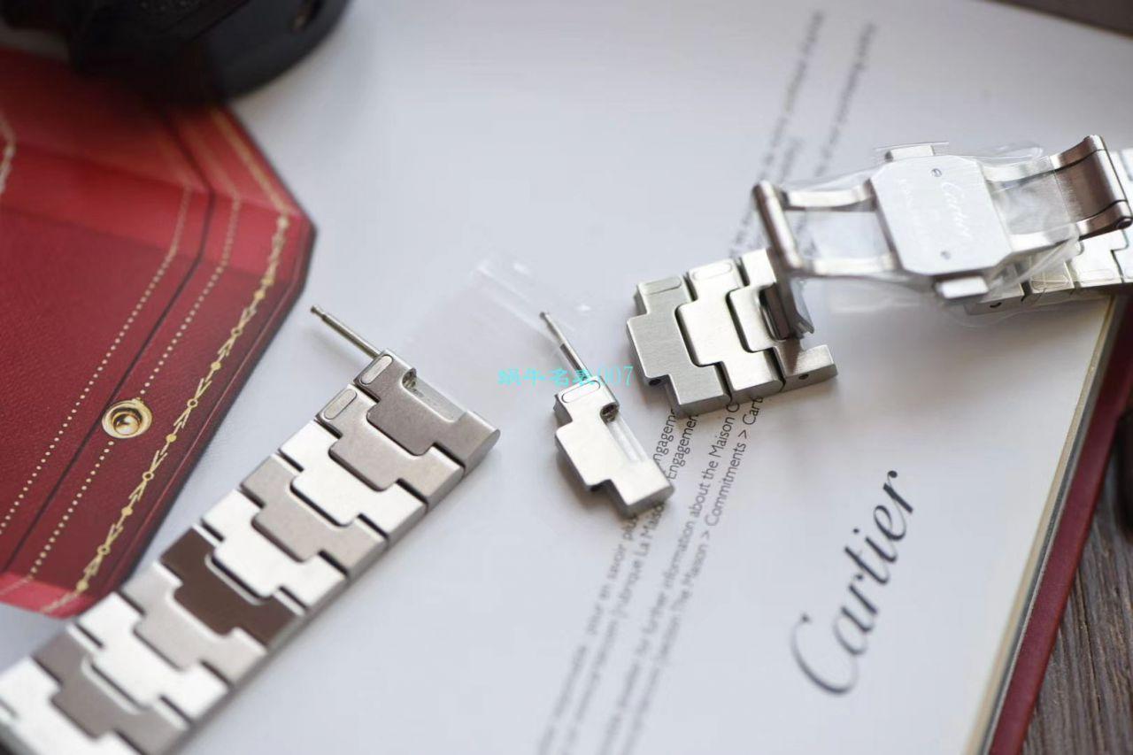 【V6厂官网超A高仿手表】卡地亚山度士系列W2SA0007(中号)腕表