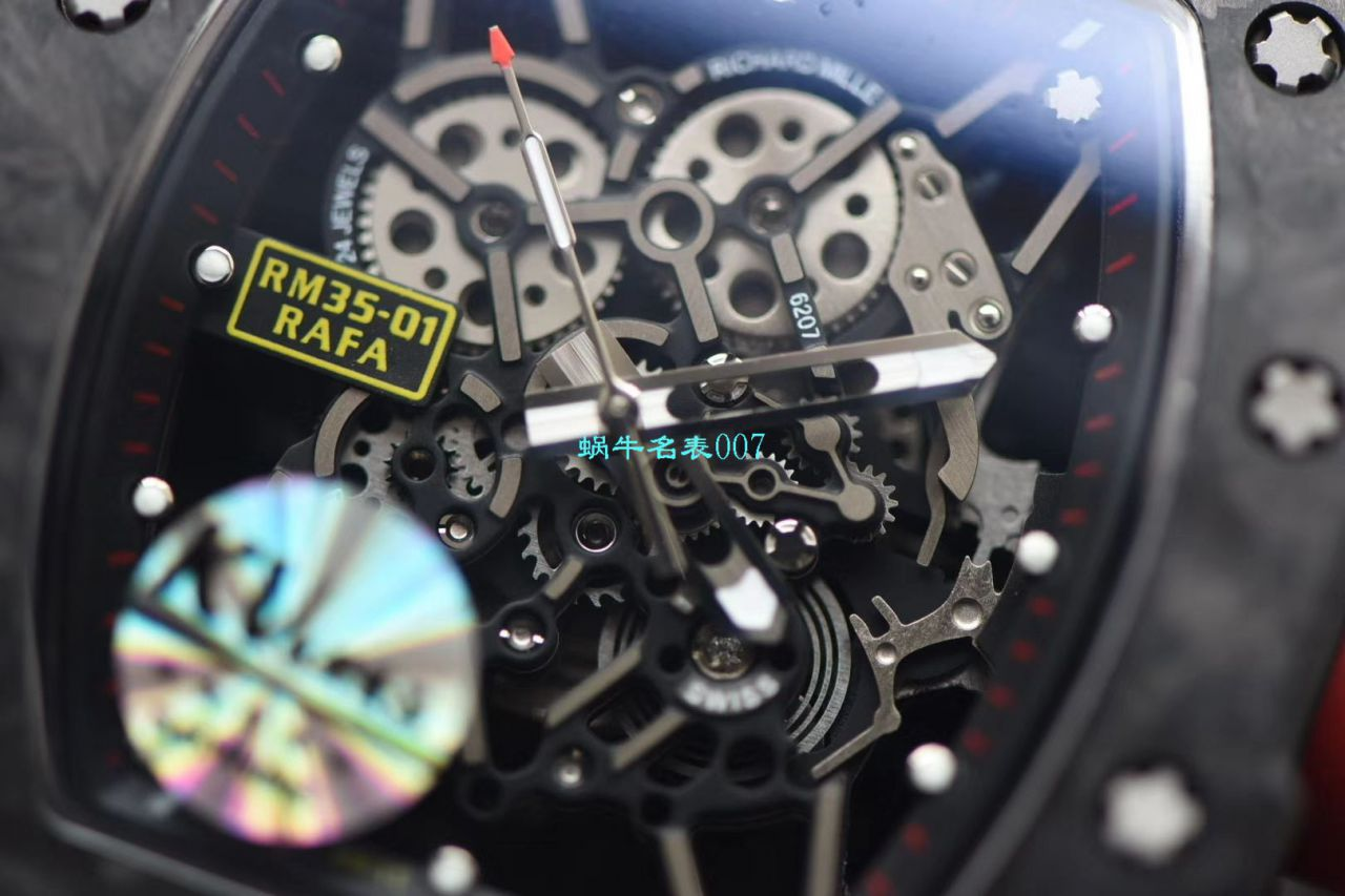 KV厂V3升级版理查德米勒男士系列RM 35-01 RAFAEL NADAL腕表