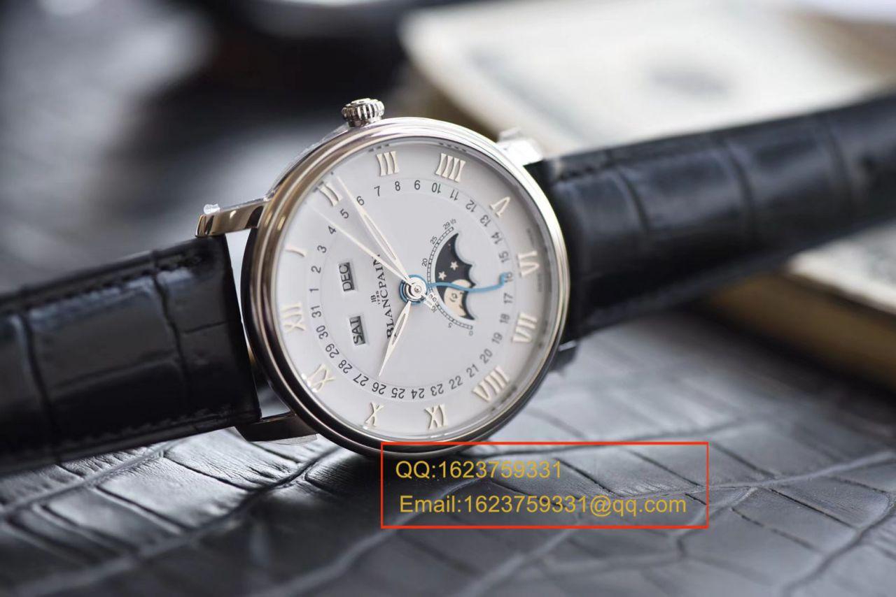 视频评测OM厂Blancpain宝珀6654V2版本复刻表6654-1529-55B,6654-1113-55B,6654-3613-55B,6654A-1127-55B腕表