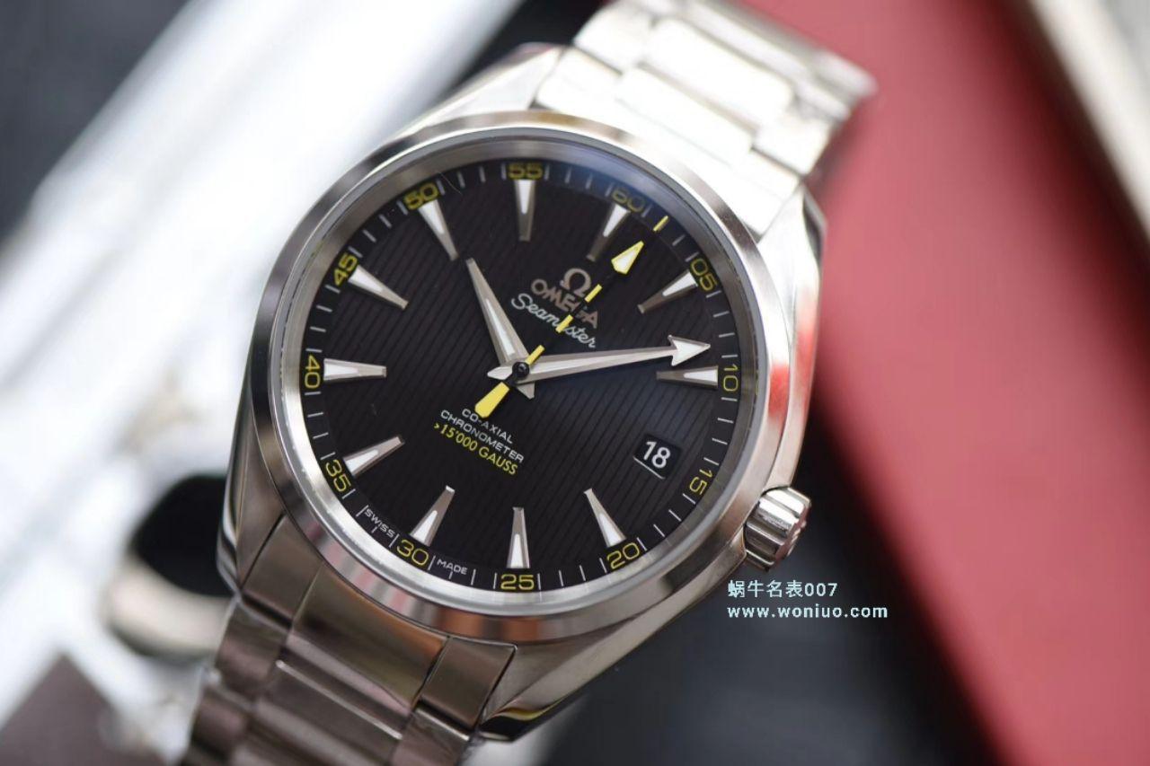 视频讲解VS厂欧米茄大黄蜂顶级精仿手表海马150米231.10.42.21.01.002腕表