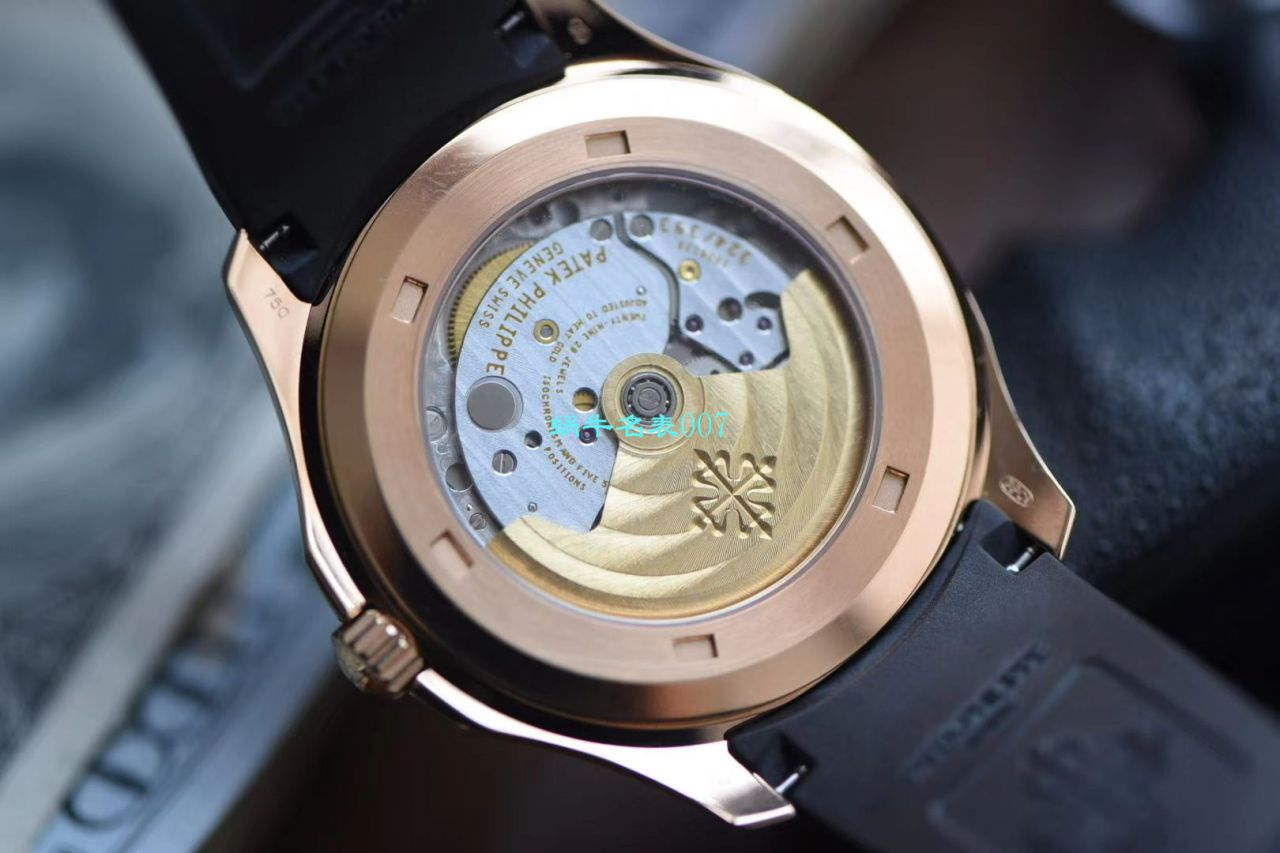 视频评测3K厂顶级复刻手表百达翡丽鹦鹉螺手雷一体机AQUANAUT系列5167R-001腕表