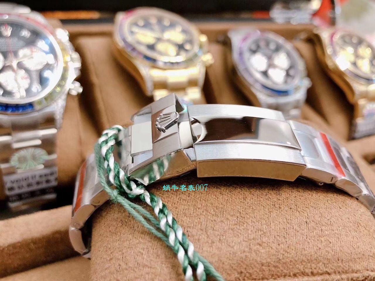 BL厂顶级复刻劳力士迪通拿彩虹迪116599 RBOW,116595 RBOW,116598 RBOW腕表