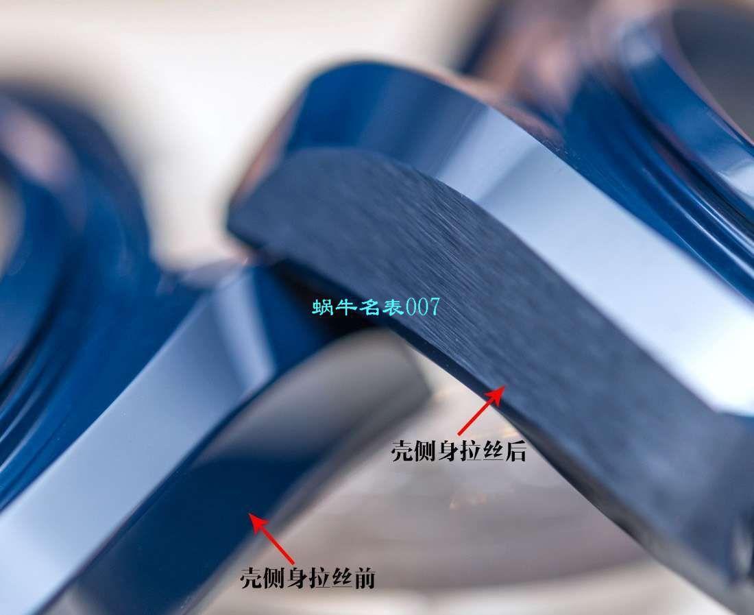 视频评测VS厂顶级复刻欧米茄深海之蓝海马GMT同轴至臻天文台215.92.46.22.03.001腕表