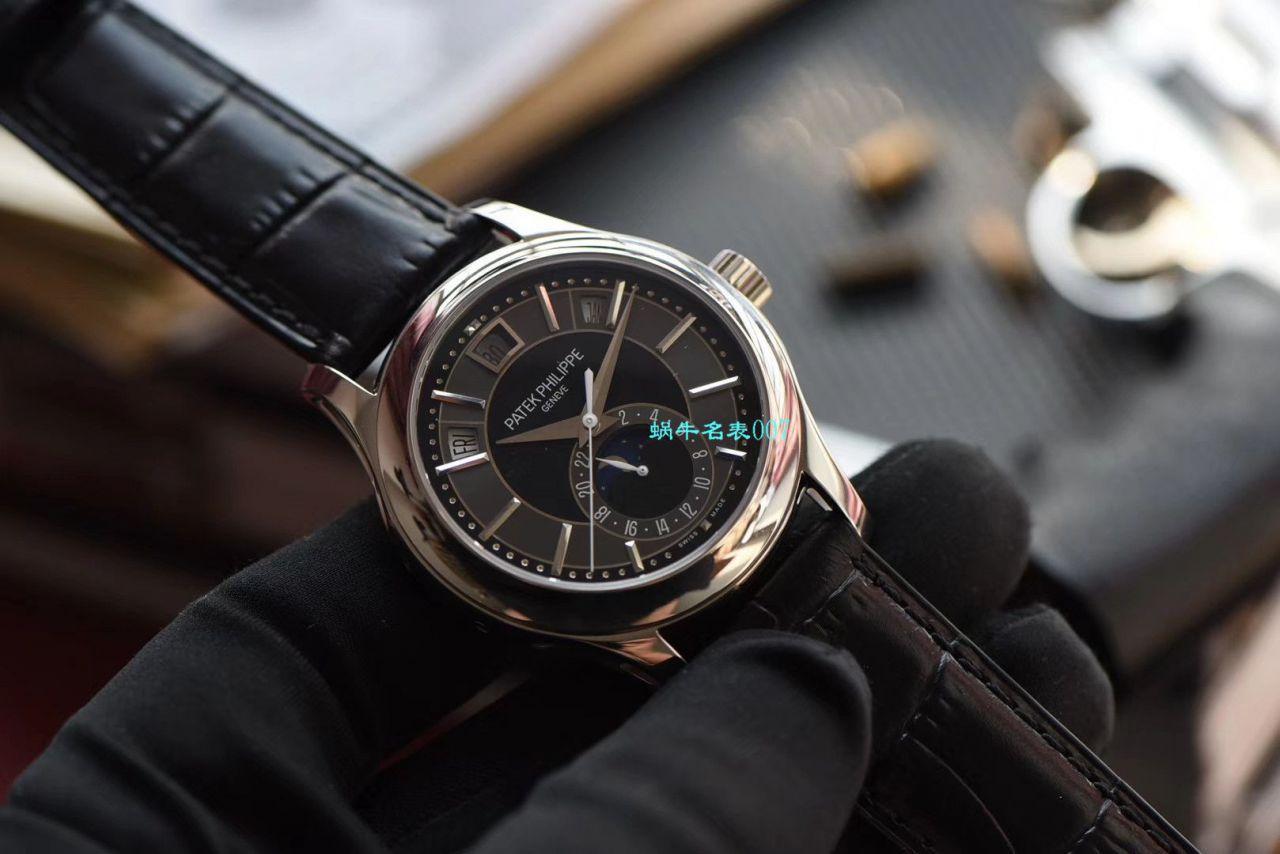 视频评测GR厂百达翡丽复刻手表西装暴徒月相5205R-001,5205R-010,5205G-010,5205G-013,5205G-001腕表