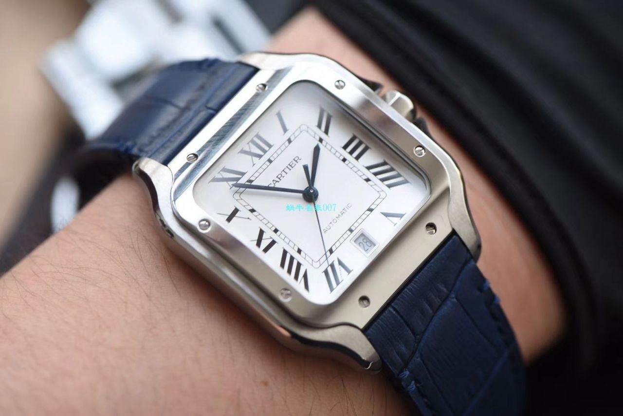 视频评测HBBV6厂顶级复刻卡地亚山度士系列WSSA0009(大号)腕表