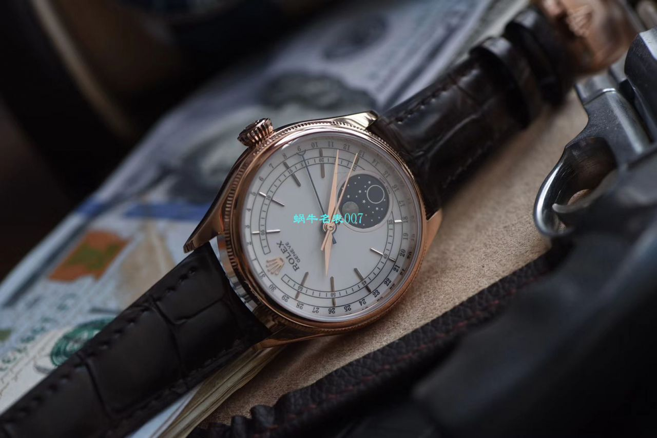 ZZ厂复刻劳力士切利尼月相型系列m50535-0002腕表