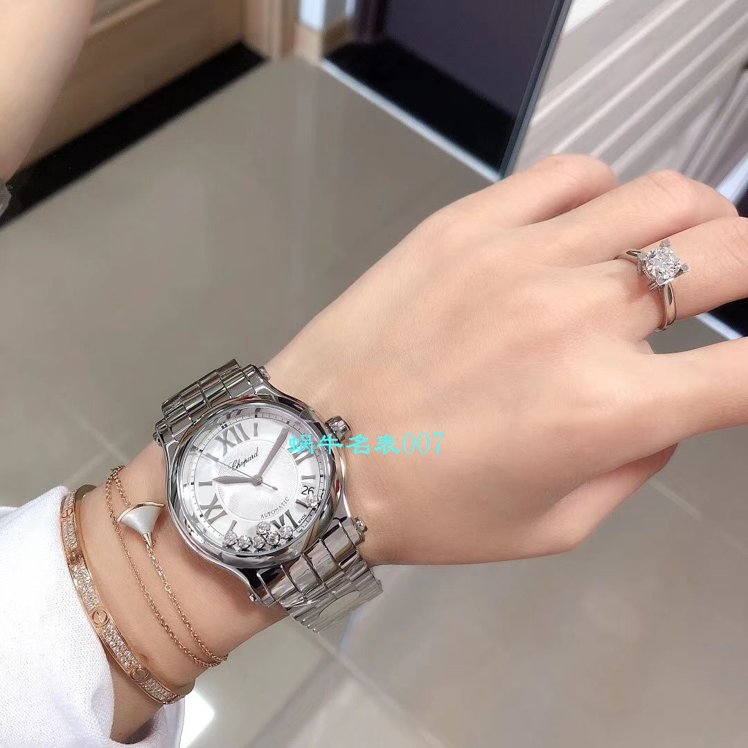【YF厂顶级复刻女表】萧邦HAPPY DIAMONDS系列277472-5002,278559-6002,278582-3002腕表 / XB051