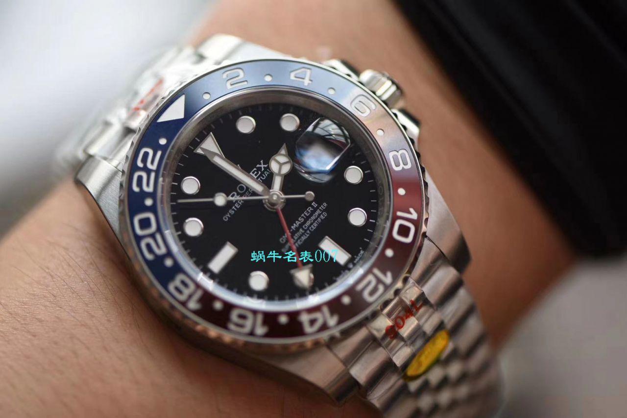 视频评测N厂官网超级可乐圈劳力士格林尼治型II126710BLRO-0001腕表 / R537