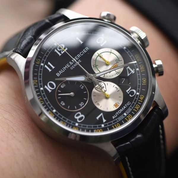 视频评测渠道原单名士Baume & Mercier卡普蓝系列M0A10282腕表价格报价