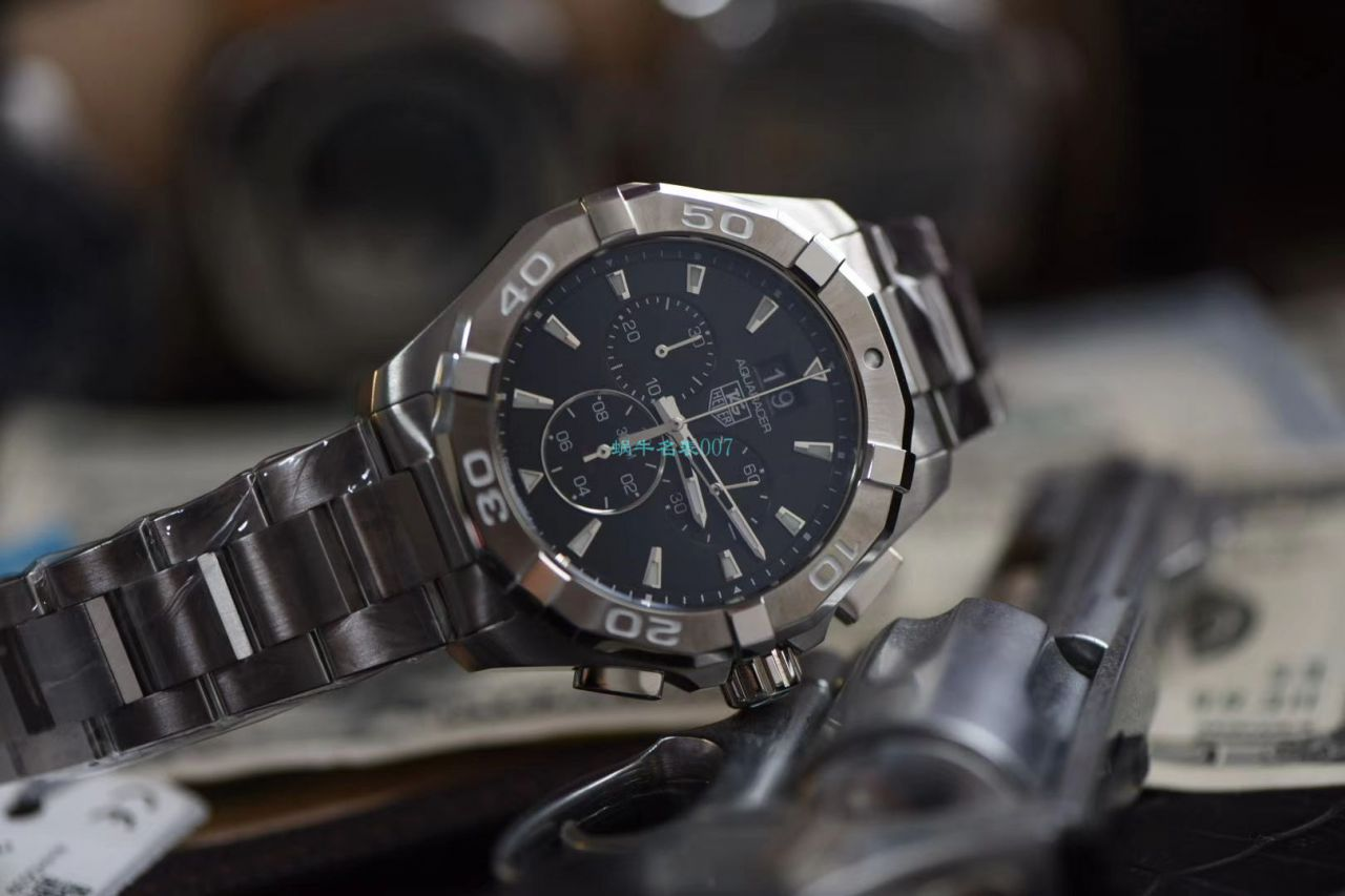 渠道原单泰格豪雅竞潜石英计时码表43毫米CAY1110.BA0927腕表