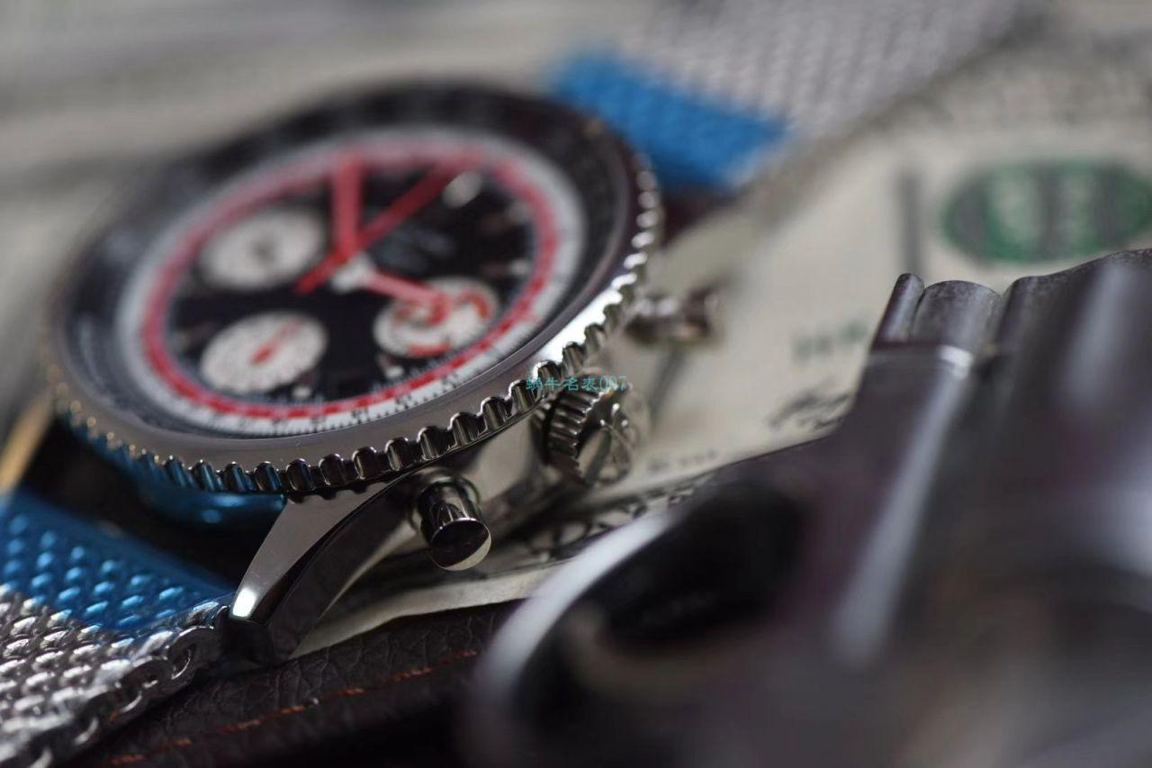 评测视频V9厂百年灵复刻哪家厂最好瑞士航空特别版AB01211B1B1A1腕表
