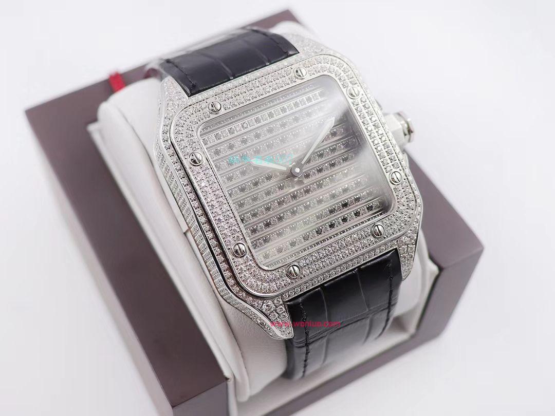 wwf厂顶级复刻卡地亚山度士鹰头WM505014腕表