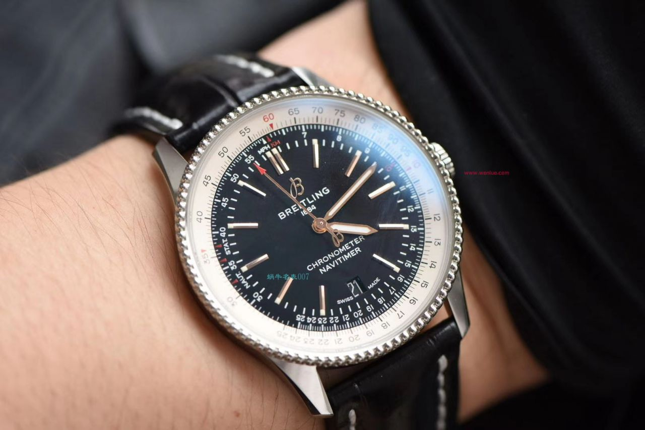 【视频评测定制瑞士机芯】百年灵顶级复刻手表航空计时41毫米系列A17326211C1P3腕表