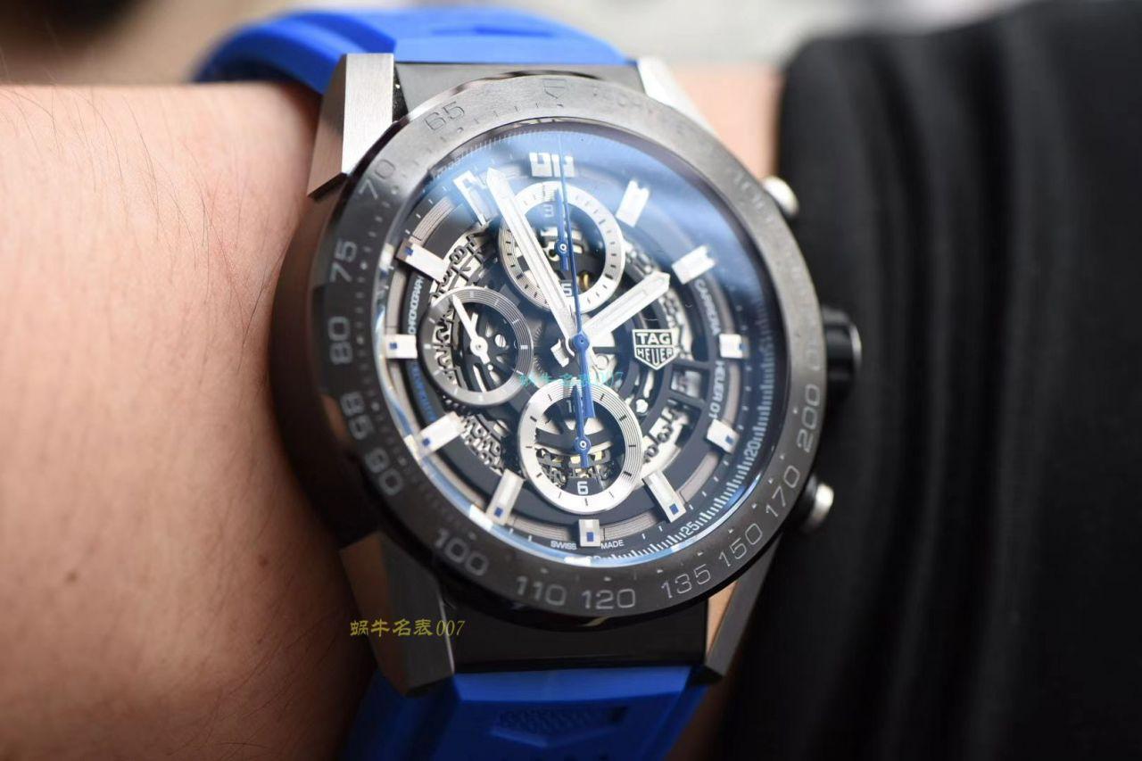 XF厂超A高仿手表泰格豪雅卡莱拉系列CAR2A1Z.FT6050腕表