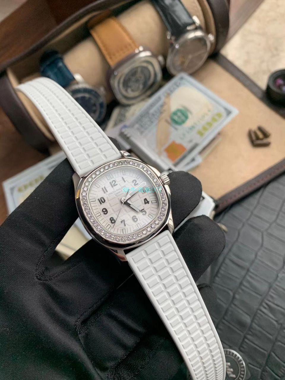 PPF厂顶级复刻手表百达翡丽鹦鹉螺女装5067A-011,5067A-001不锈钢腕表