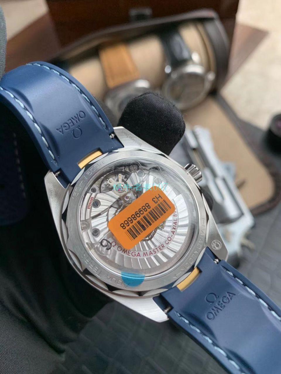 VS厂新金针队长欧米茄海马系列220.12.41.21.02.004莱德杯腕表