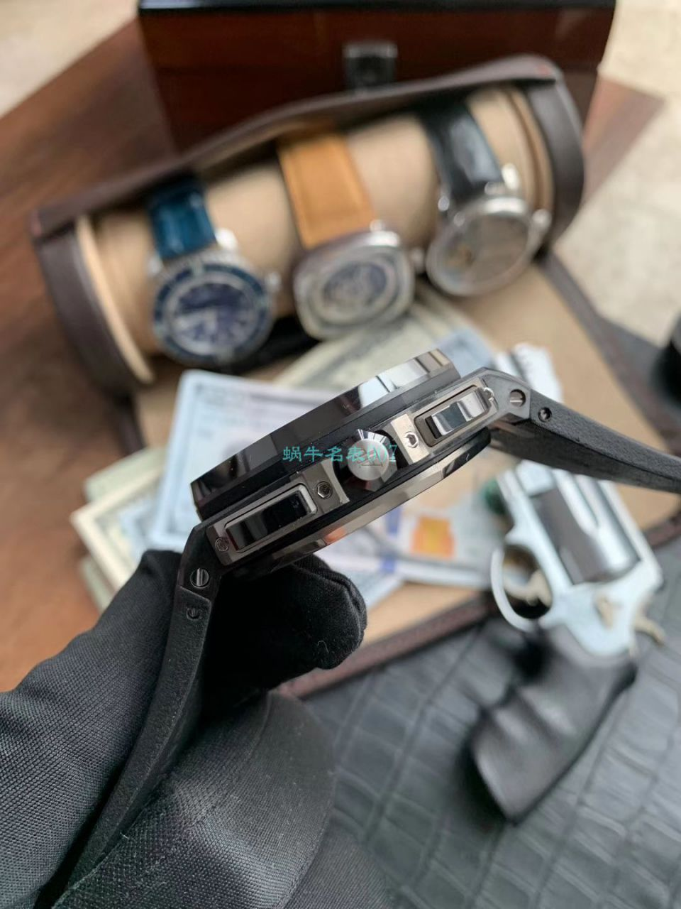 视频评测JF厂顶级复刻AP爱彼皇家橡树离岸型26400AU.OO.A002CA.01腕表