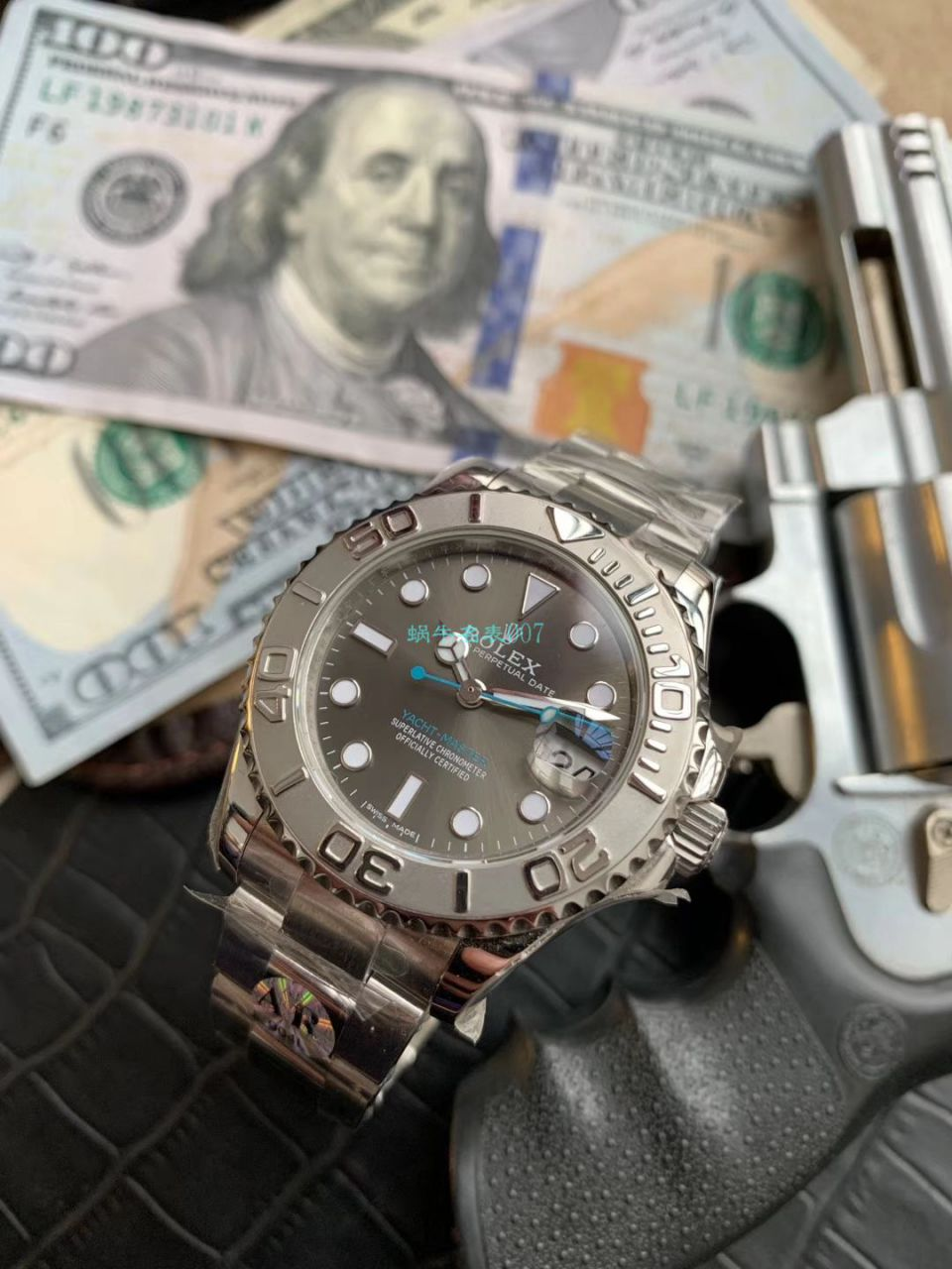 【AR一比一超A高仿手表】劳力士游艇名仕型系列268622腕表中性37毫米男女 / R205