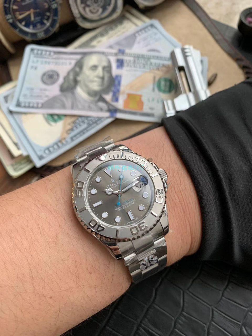AR厂顶级复刻手表劳力士游艇名仕型37系列268622腕表
