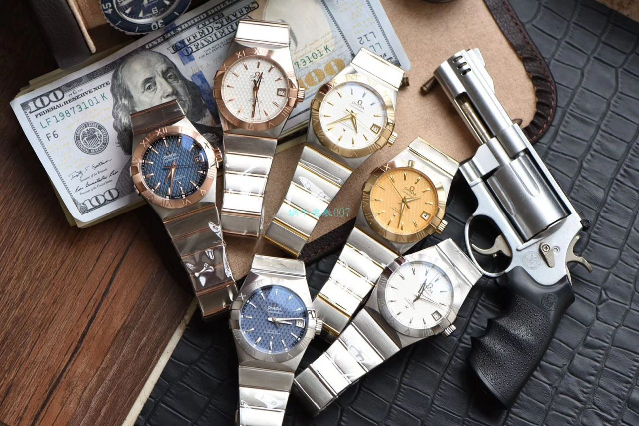 VS厂顶级复刻手表欧米茄星座系列123.20.38.21.03.001腕表