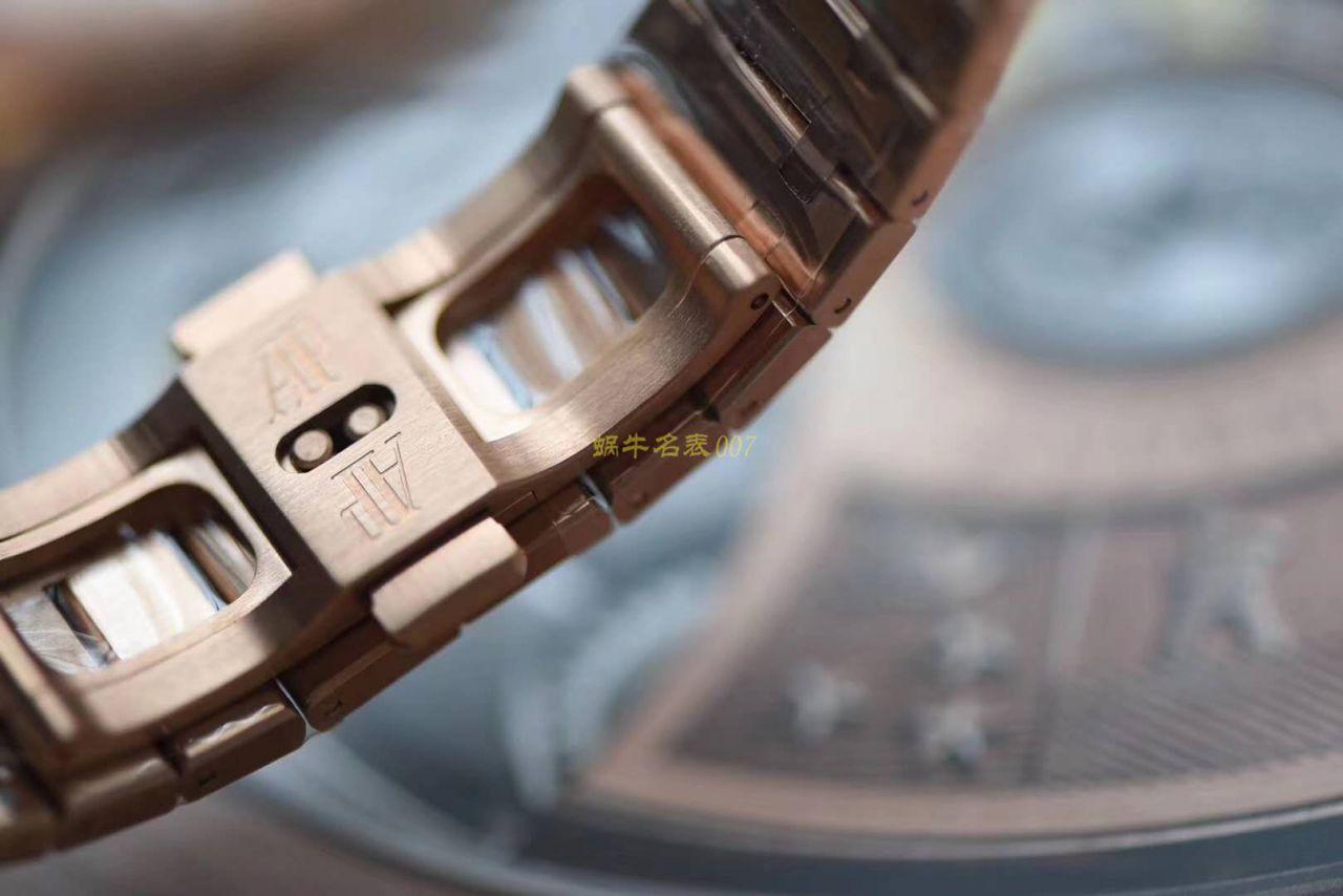 视频评测JF厂复刻AP爱彼皇家橡树15400OR.OO.1220OR.02腕表