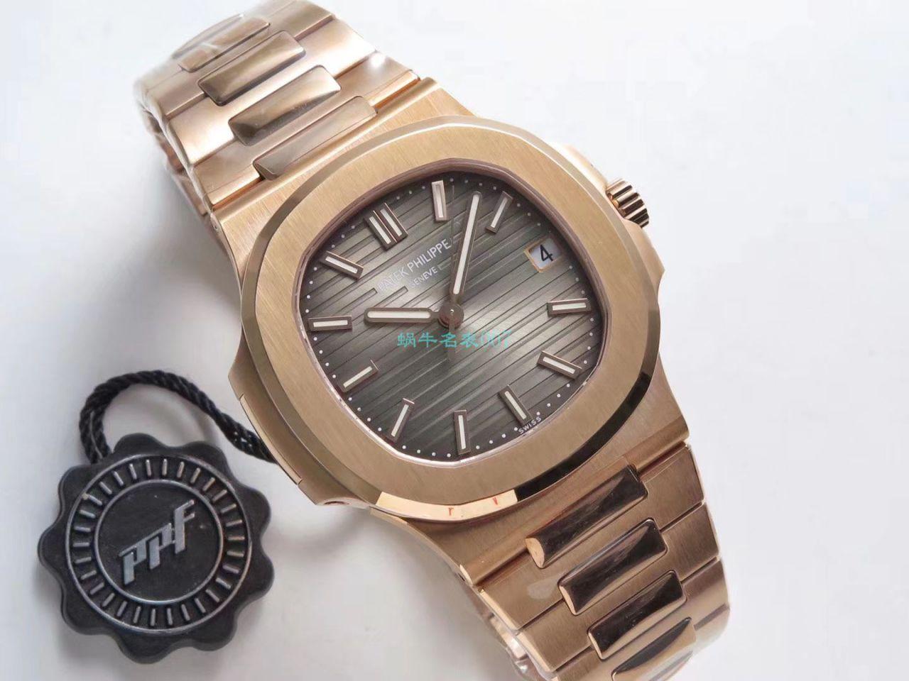 【PPF厂鹦鹉螺复刻最好版本手表V2价格】百达翡丽运动系列5711/1R-001腕表 / BD253