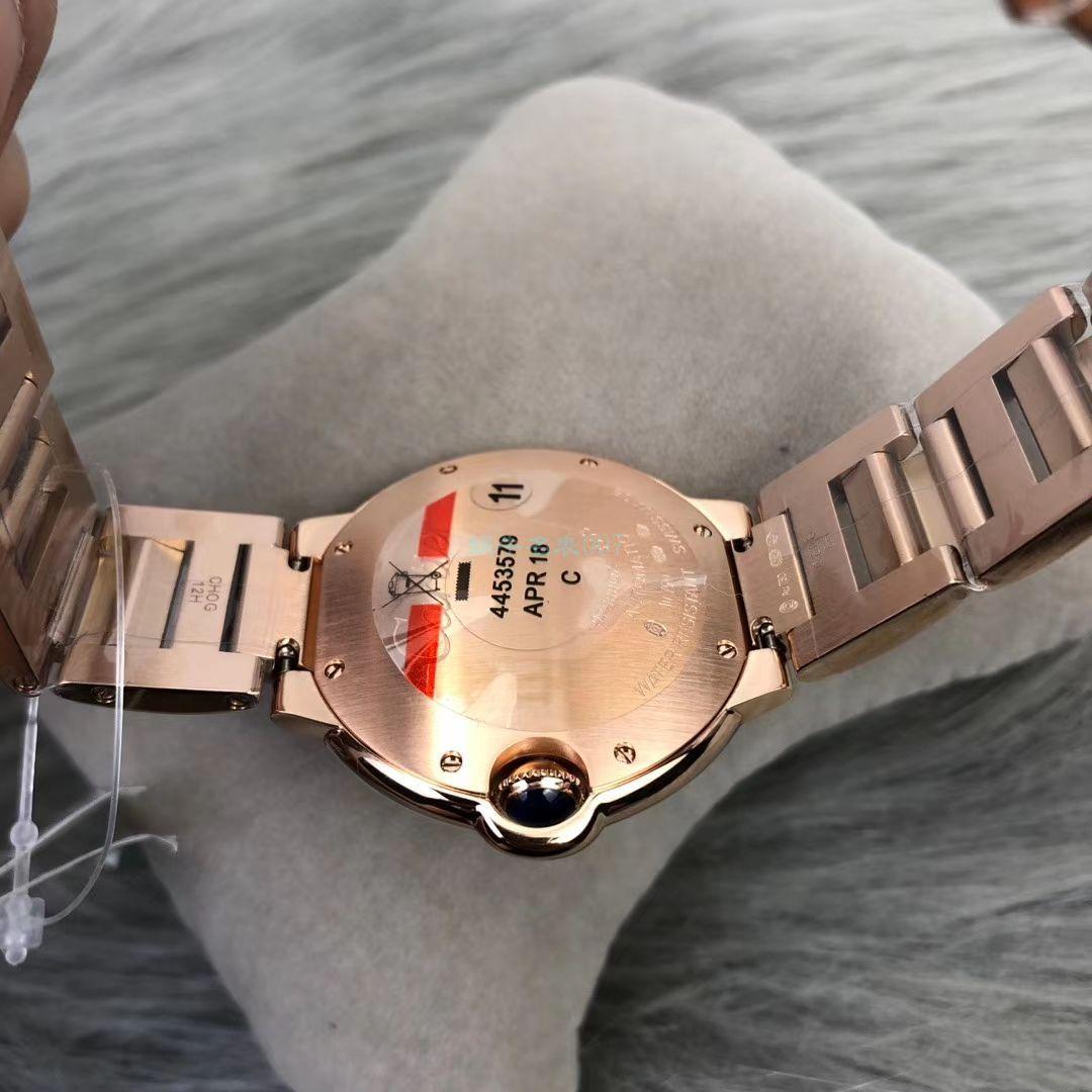 V6厂超A高仿卡地亚蓝气球WE902064女装腕表 / K276
