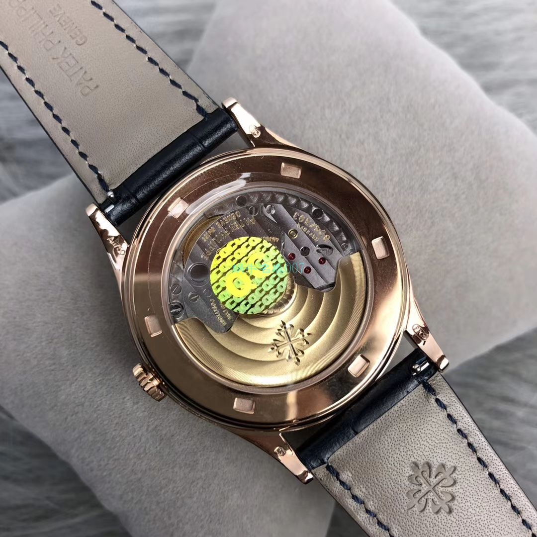 【ZF一比一顶级复刻】百达翡丽古典表系列5296R-001 玫瑰金腕表