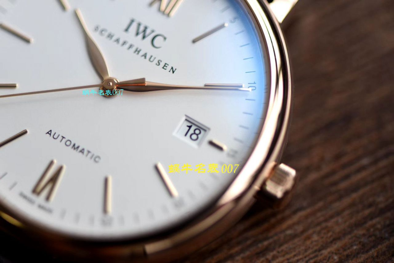 【视频评测最好的精仿手表网站】V7厂万国柏涛菲诺系列IW356504腕表 / WG387V7
