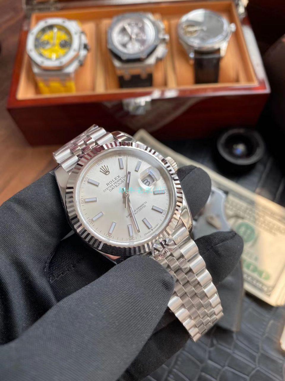 AR厂顶级复刻手表V3版本41日志劳力士日志型m126334-0004腕表