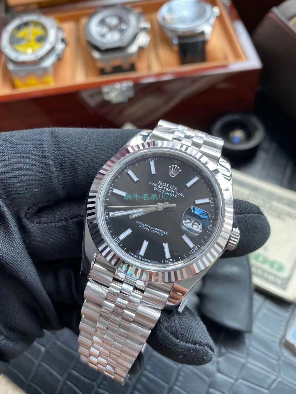 AR厂超A高仿手表41日志劳力士日志型m126334-0018腕表