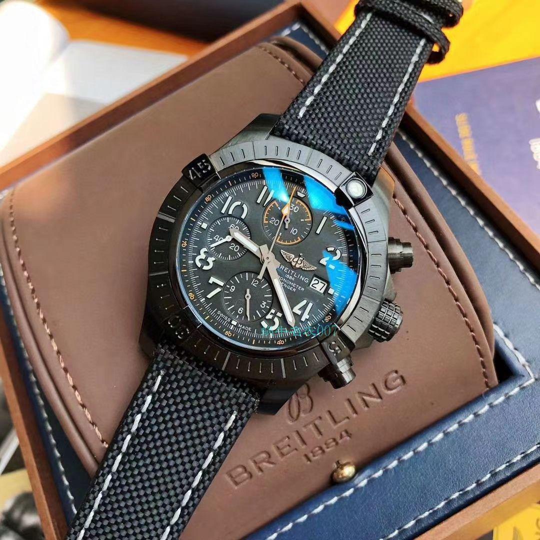 百年灵原单瑞士7750复仇者系列A13317101C1X2腕表
