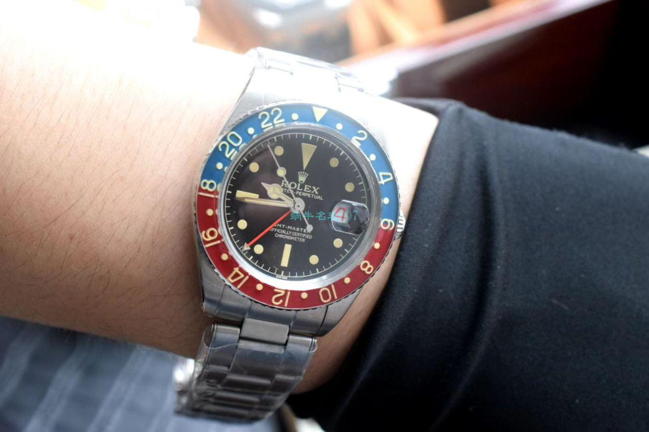 劳力士复古格林尼治型II系列可乐圈GMT Master II 16710腕表