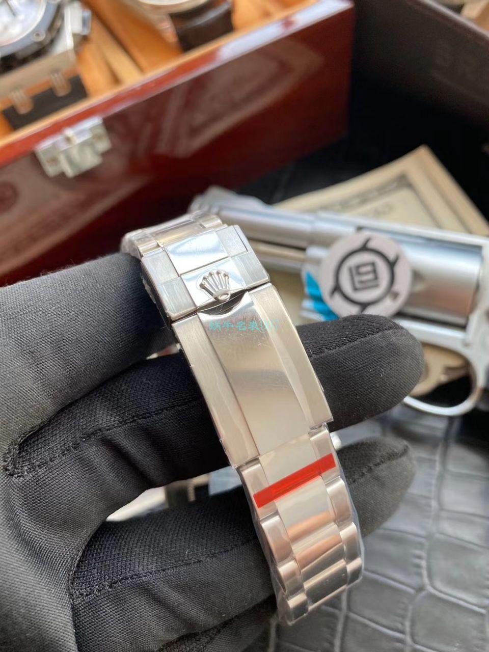 V9厂官网复刻手表劳力士格林尼治型II系列116710BLNR-78200腕表(可乐圈)
