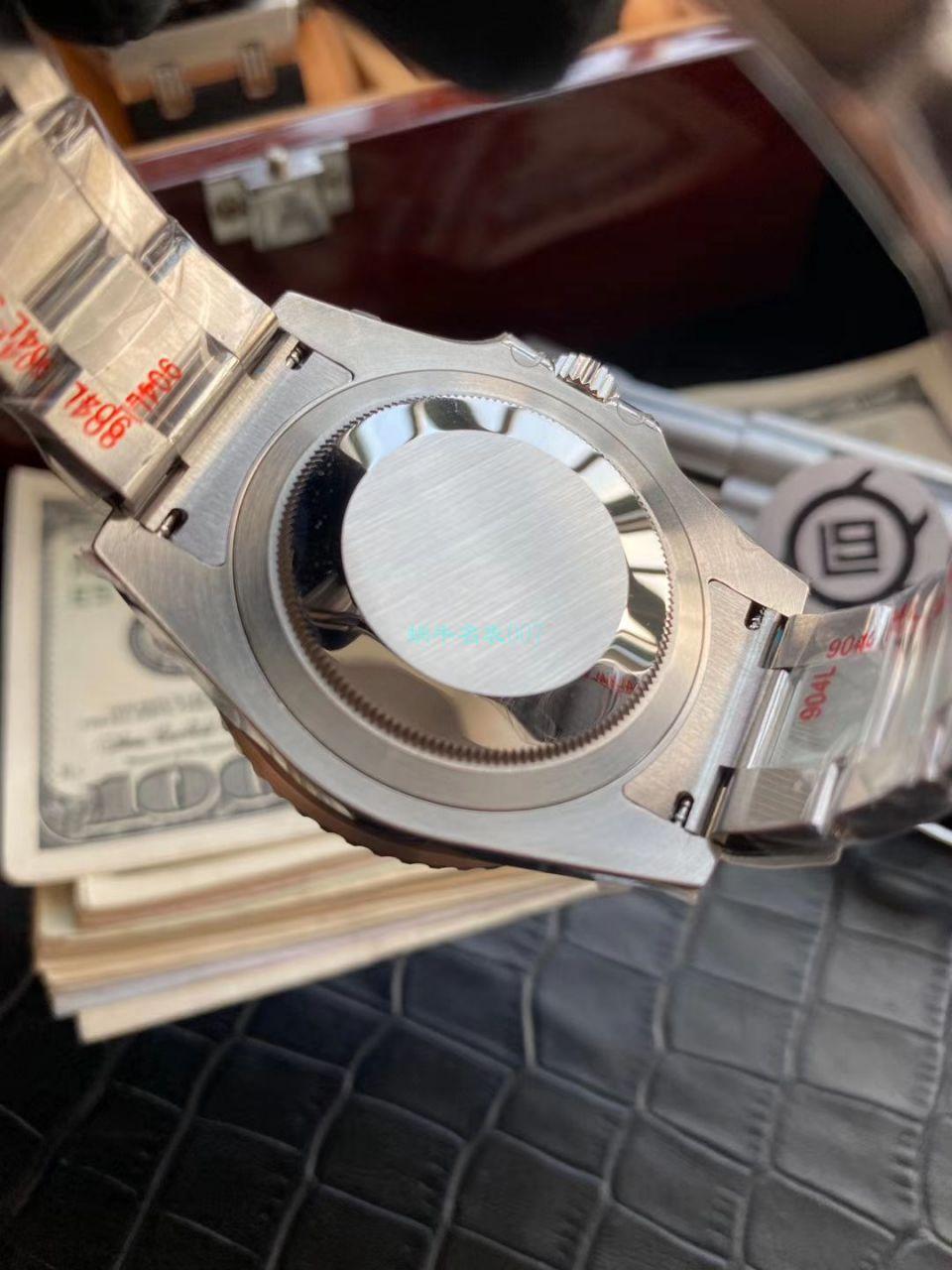 V9厂精仿手表劳力士格林尼治型II系列116710LN-78200腕表(绿针)