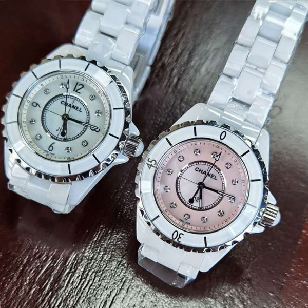 独家原单专柜一致香奈儿经典J12系列女士腕表H5704,H5513钻石款