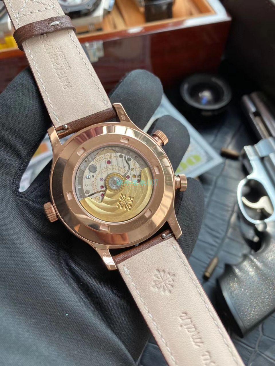 GR厂百达翡丽高仿手表复杂功能时计V2升级版5524G-001,5524R-001腕表