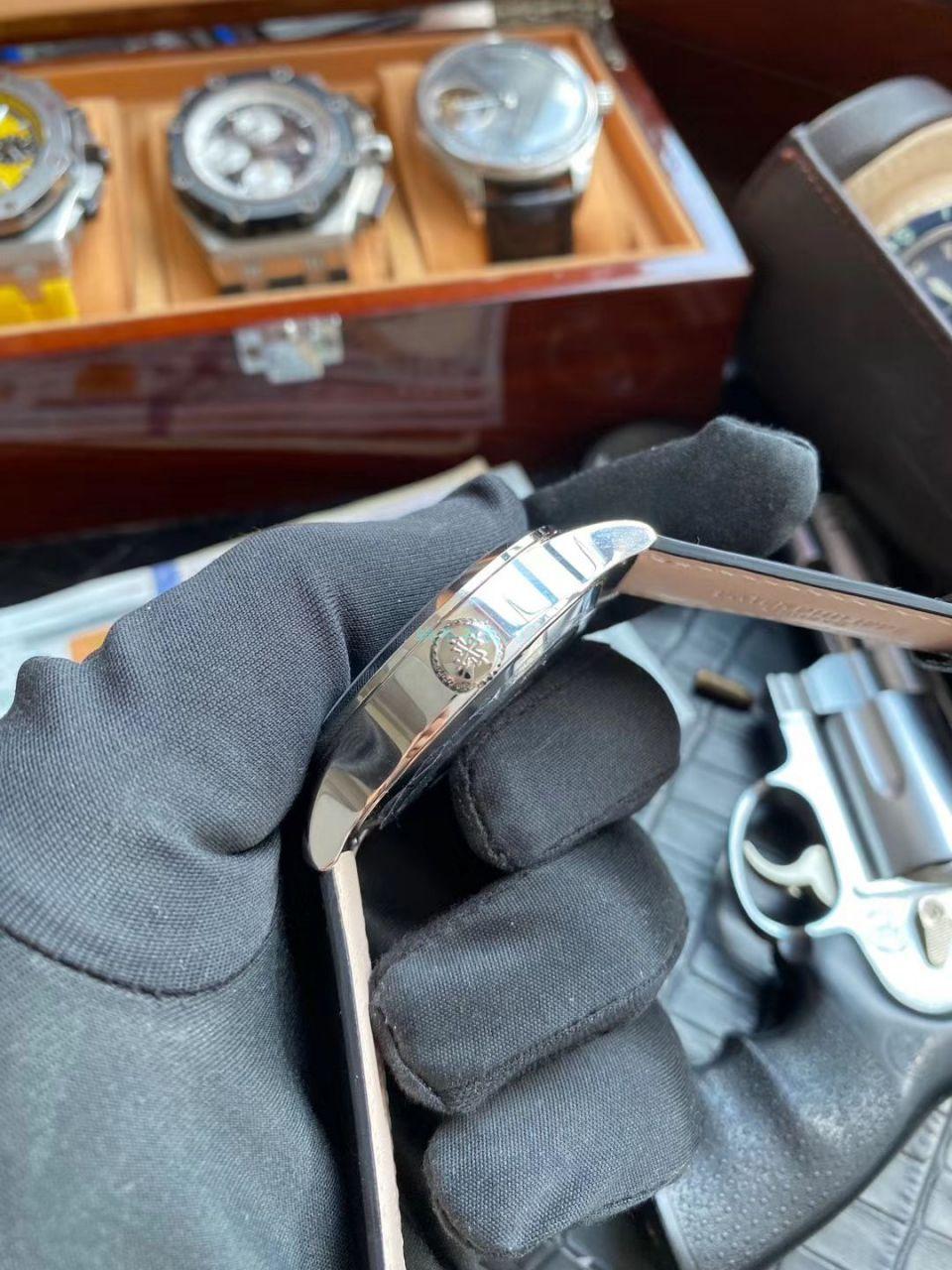 GR厂PP复刻手表百达翡丽复杂功能时计系列5524R-001腕表