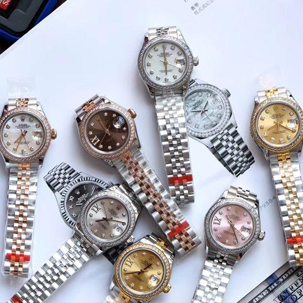 TW厂超a高仿手表劳力士女装28MM日志型m279381rbr-0003,m279383rbr-0021腕表