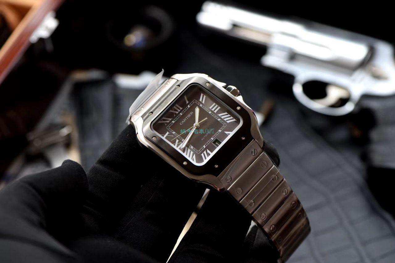 V6厂复刻手表卡地亚山度士WSSA0037(大号男装)腕表 / K280