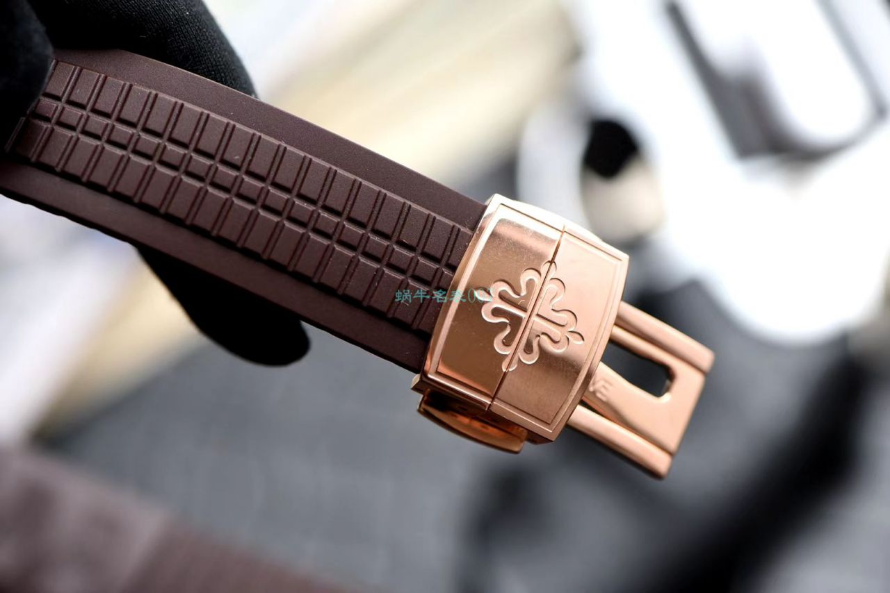 视频评测GR厂V2版高仿手表百达翡丽AQUANAUT系列5164R-001,5164A-001腕表