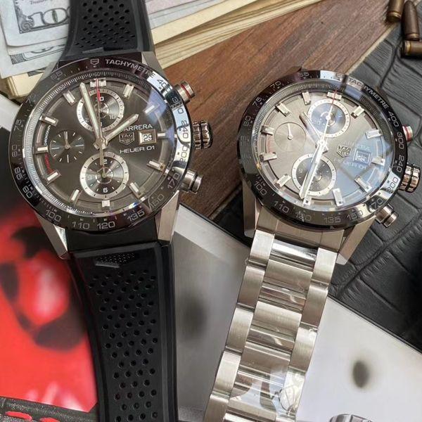 XF厂官网泰格豪雅高仿手表卡莱拉系列CAR201W.BA0714腕表