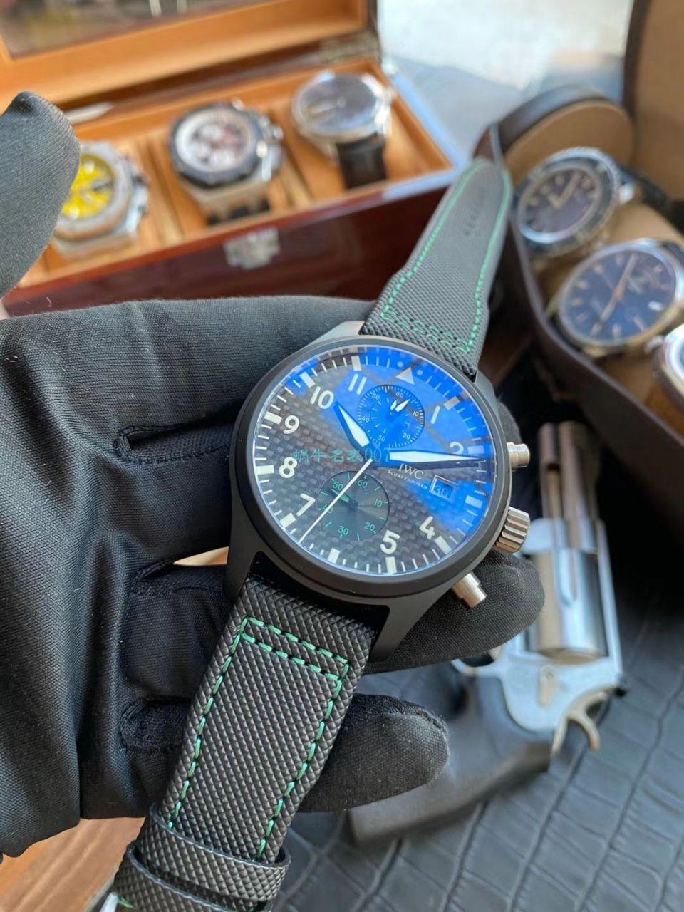 评测:YL厂万国复刻手表飞行员系列IW389005腕表(梅赛德斯AMG马石油车队特别版)