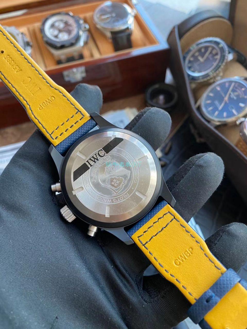 视频评测YL厂高仿手表万国飞行员系列IW389008腕表