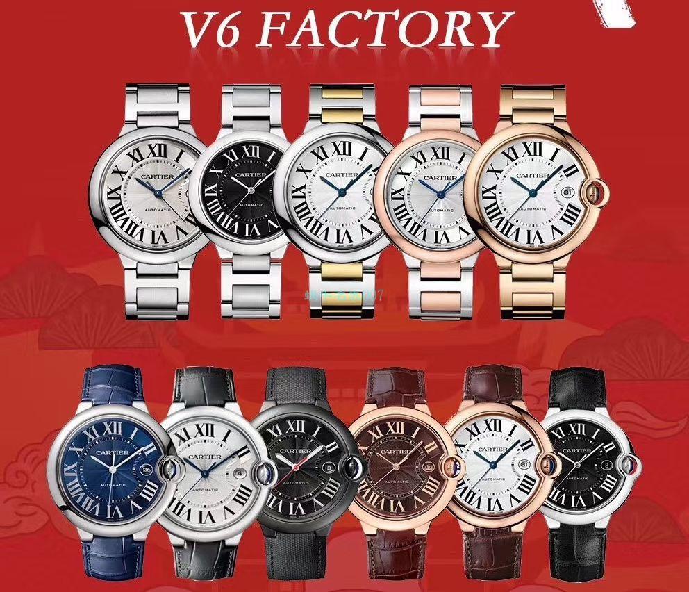 V6厂V7版本复刻卡地亚蓝气球33MM女表WE902066腕表 / K292