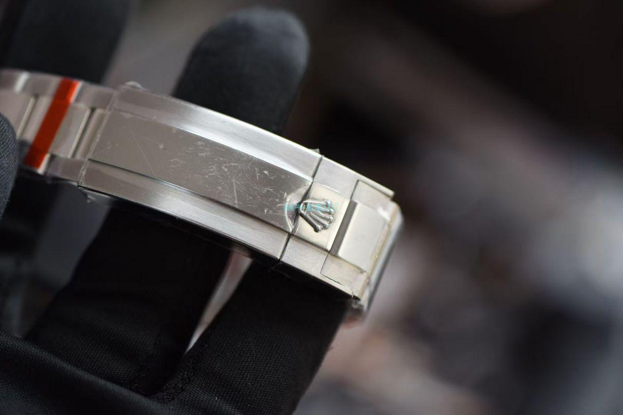 GM厂超A高仿手表劳力士罗志祥同款后钻蓝钻鬼