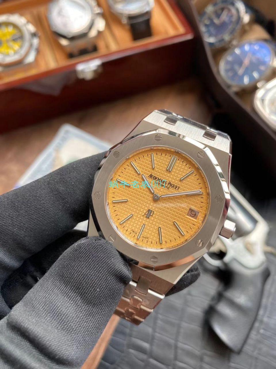 视频评测顶级复刻爱彼AP手表,爱彼复刻哪个厂做的最好 / AP207